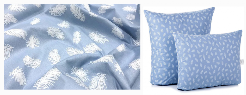 ткань тик для подушек купить